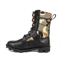 Camo leather jungle boots for hiking 5205