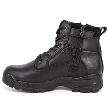 Searcher waterproof black full leather boots 6110