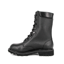 Police tactical searcher full leather boots 6207
