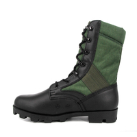 Olive fashion waterproof military jungle boot 5202