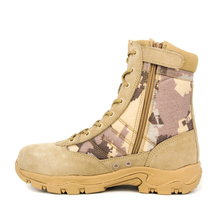 Yellow tactical military desert shoe 7203