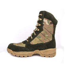 Olive quick dry fashion military tactical boots 4232