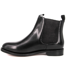 Black ankle chelsea office boots 1225