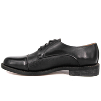 Factory wholesale leather men office shoes 1285