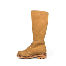 Mens cowhide sand concierge boots 8203
