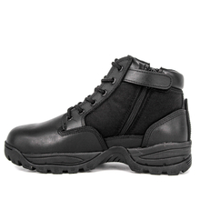 Fashion toe tactical boots with zipper 4120