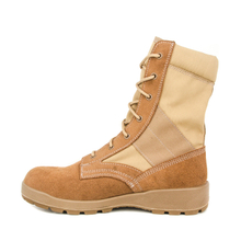 Fashion army sand desert boots 7217