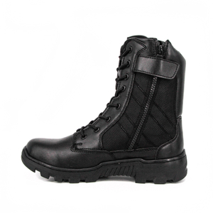 Factory cheap leather military combat tactical boots 4249