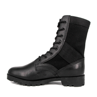 UK black tactical military jungle boots 5237