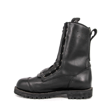 Black mens military flying boots 9202