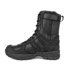 Men's police zip military tactical boots 4235