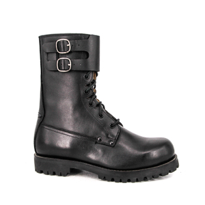Comfortable high quality ritual France military full leather boots 6269